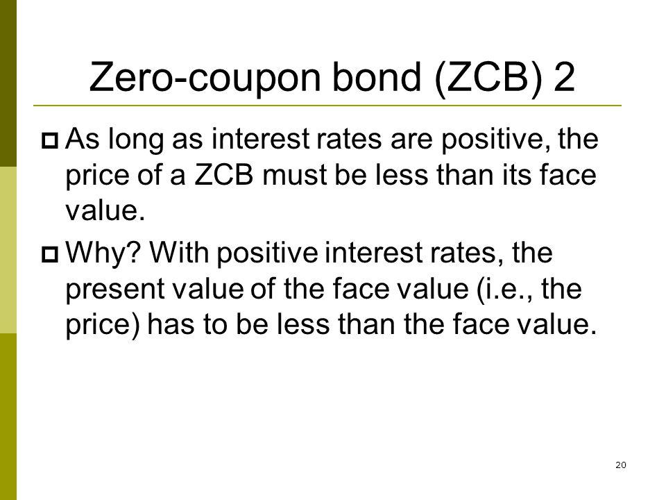 Zero-coupon bond (ZCB) 2