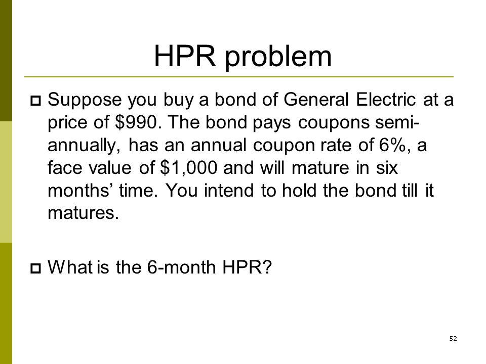 HPR problem