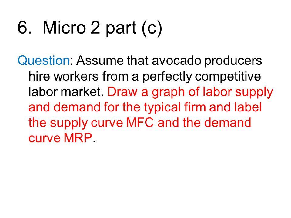 6. Micro 2 part (c)
