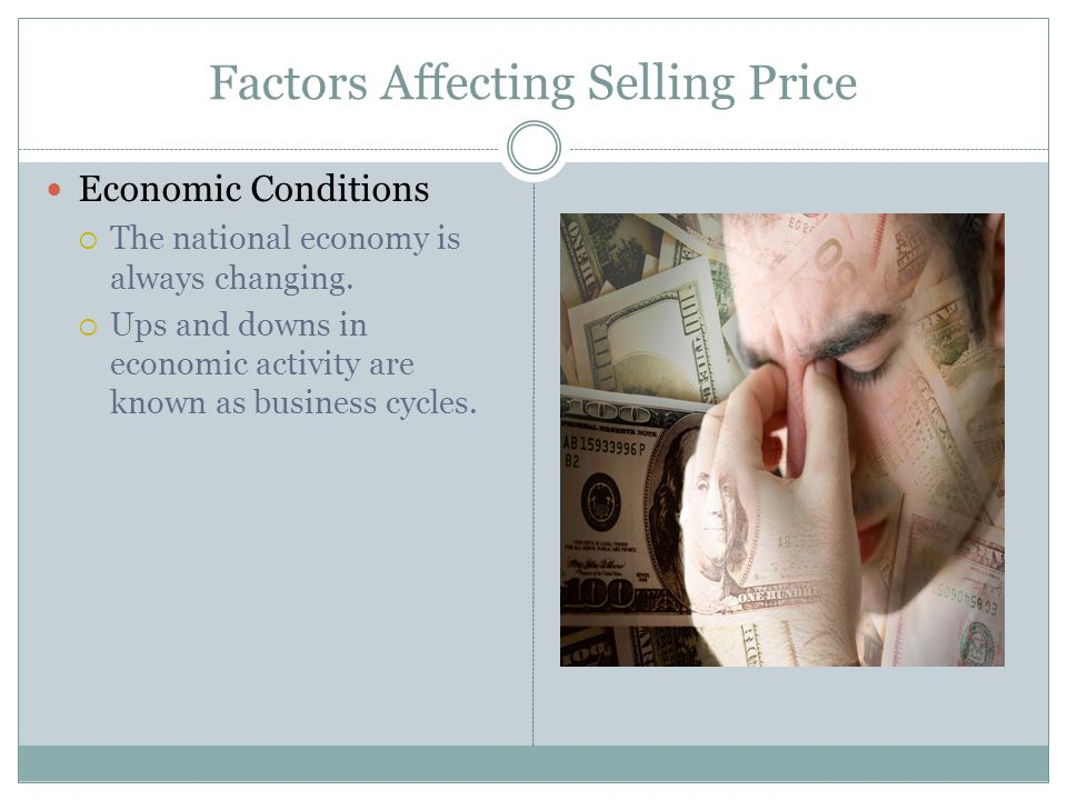Factors Affecting Selling Price