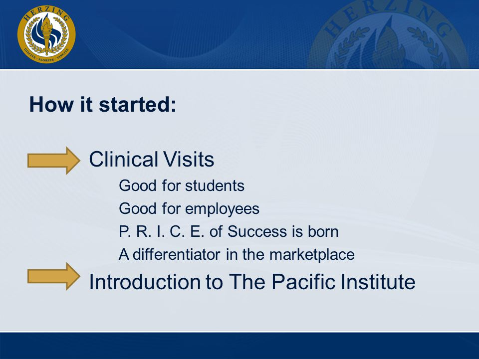 Introduction to The Pacific Institute