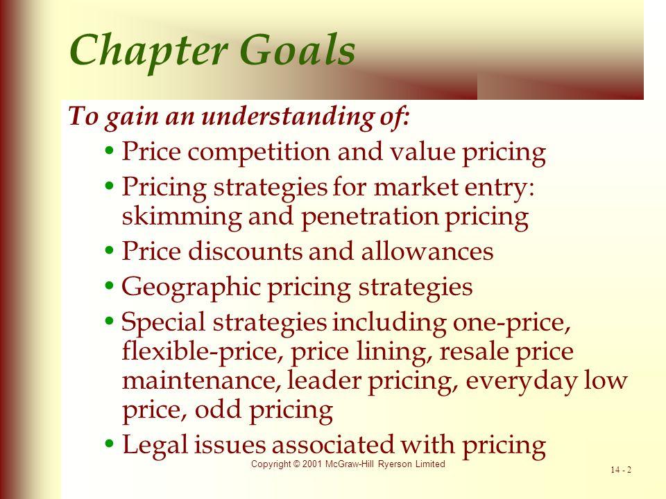 Chapter Goals To gain an understanding of: