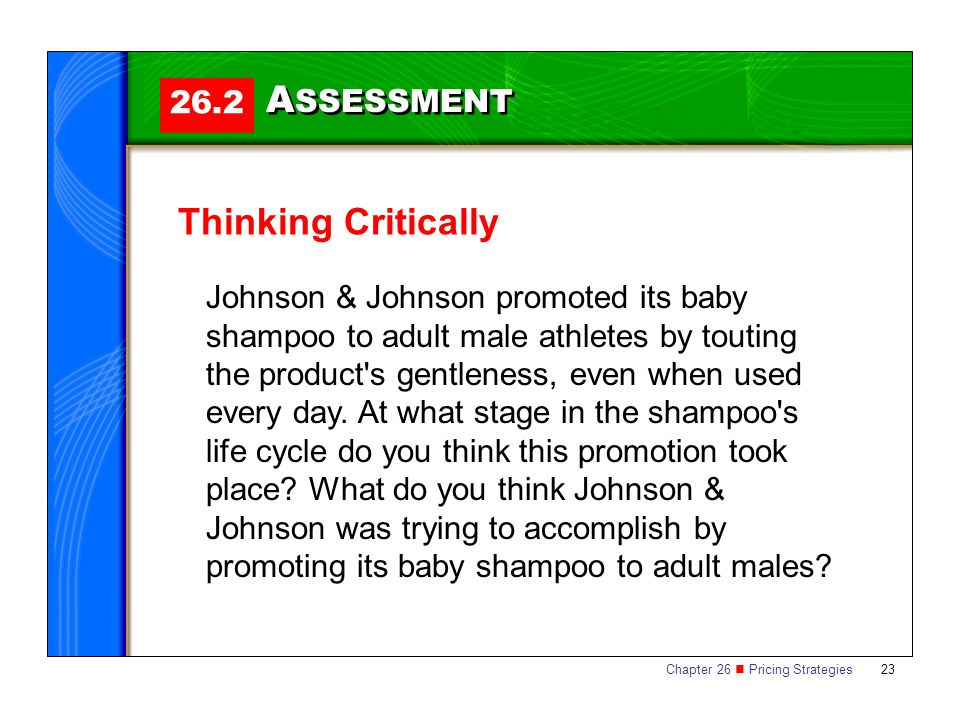 ASSESSMENT Thinking Critically 26.2