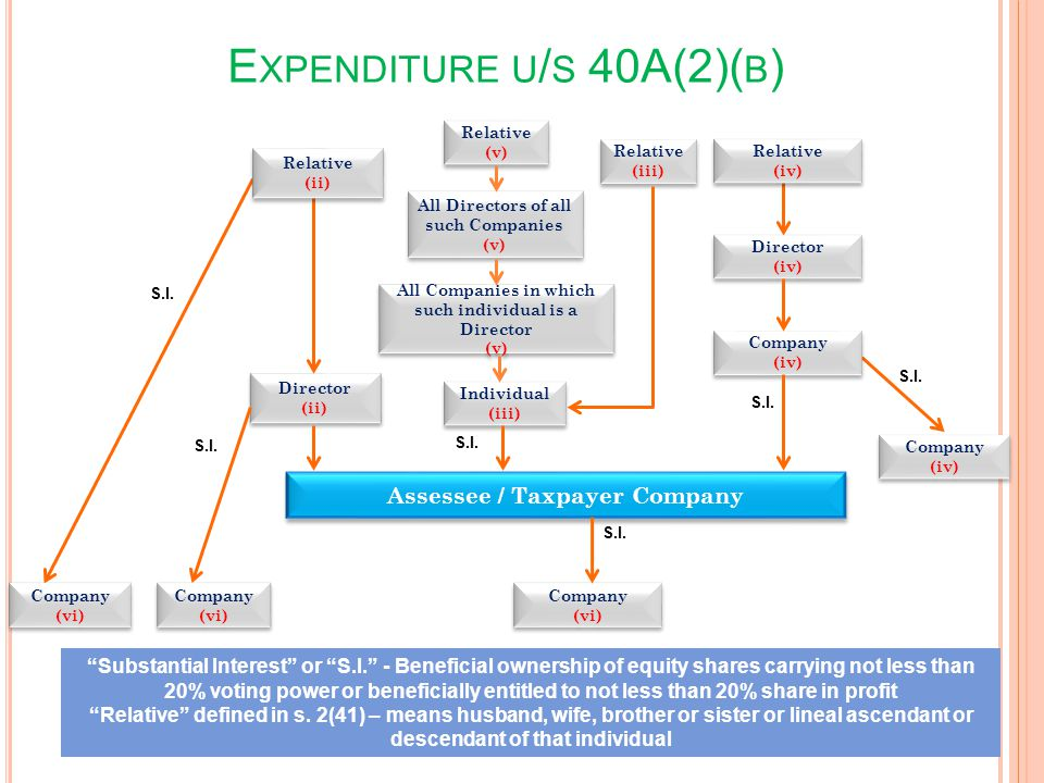 Assessee / Taxpayer Company