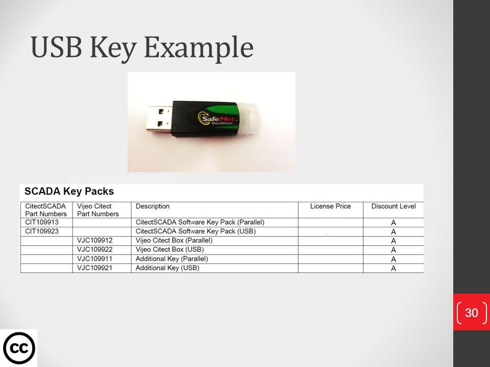 USB Key Example