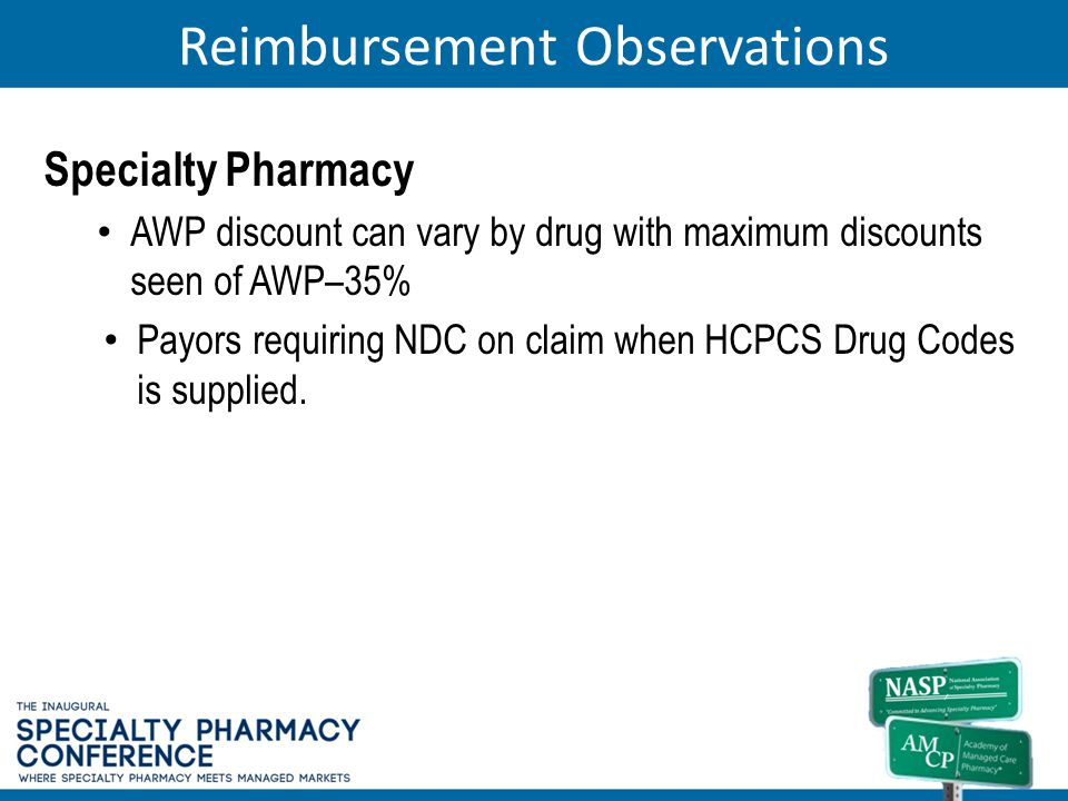 Reimbursement Observations
