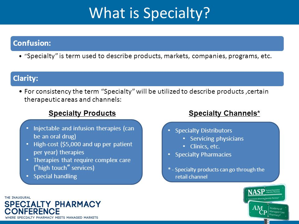What is Specialty Confusion: Clarity: