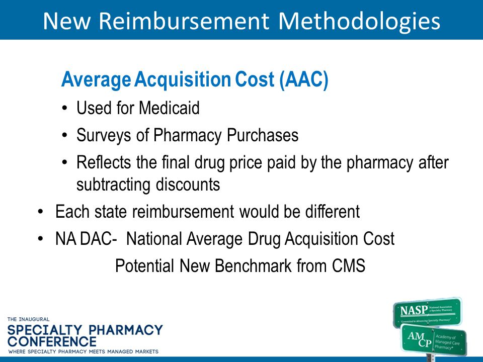 New Reimbursement Methodologies