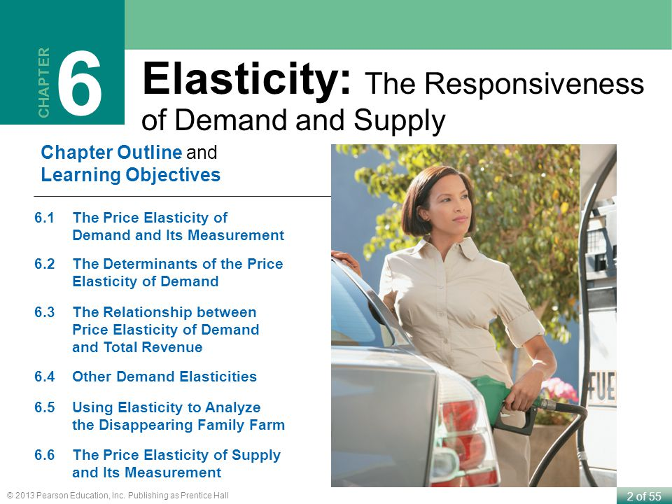6 Elasticity: The Responsiveness of Demand and Supply