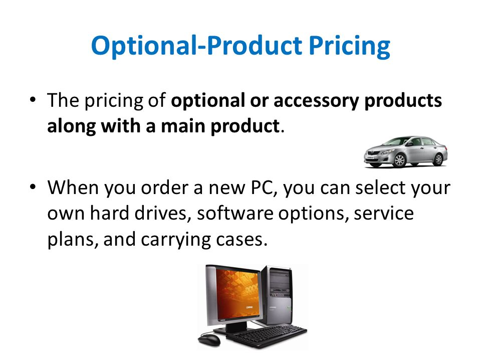 Optional-Product Pricing