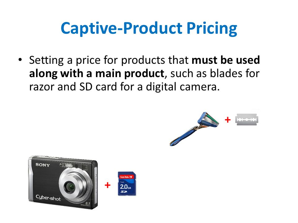 Captive-Product Pricing