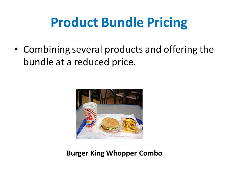 Product Bundle Pricing