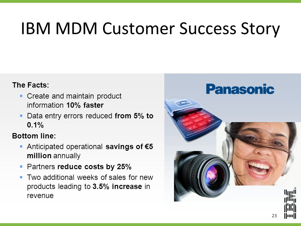 IBM MDM Customer Success Story