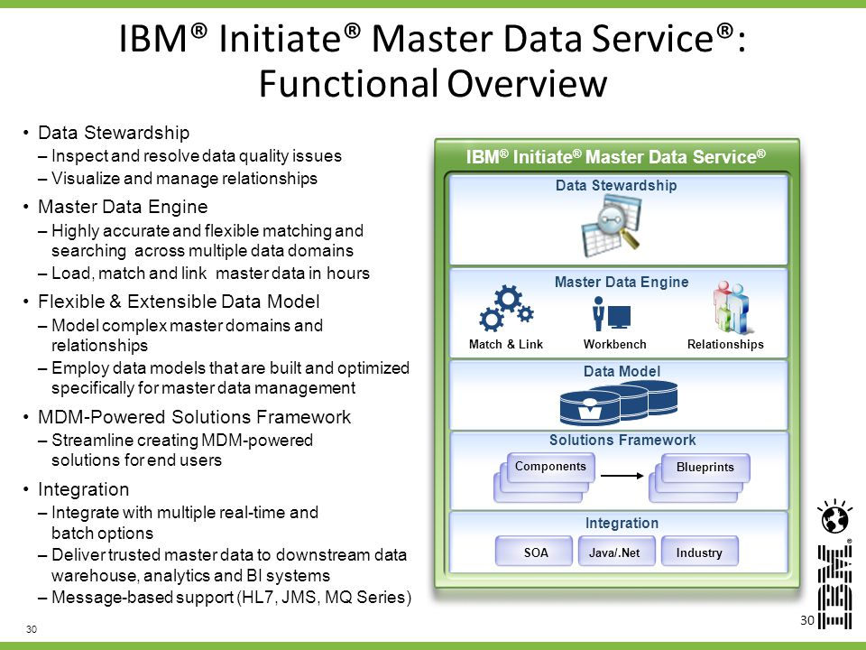 IBM® Initiate® Master Data Service®: Functional Overview