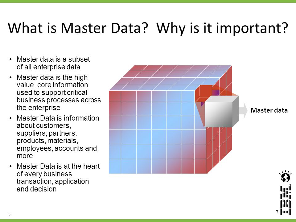What is Master Data Why is it important