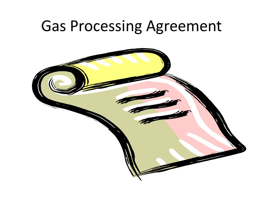 Gas Processing Agreement
