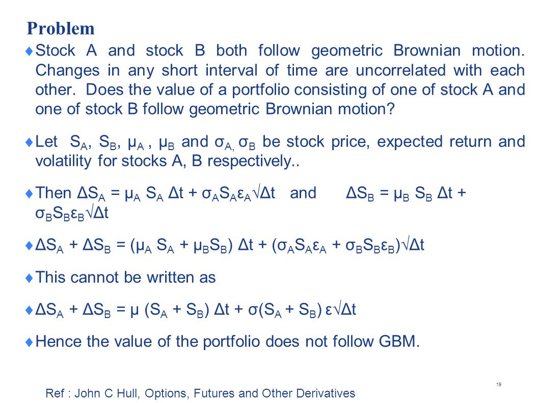 Understanding Geometric Brownian Motion