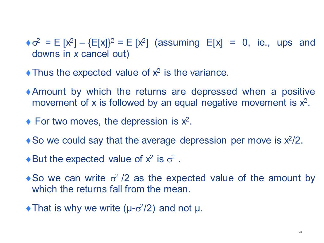 A simple example to explain (µ-2/2)