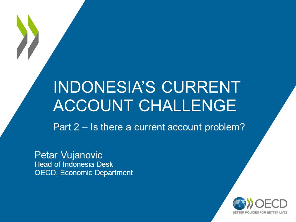 Indonesia's current account challenge