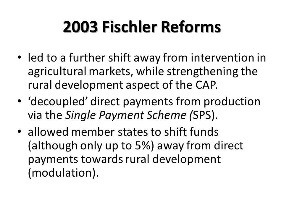 2003 Fischler Reforms