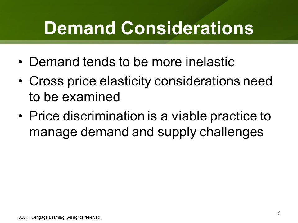 Demand Considerations