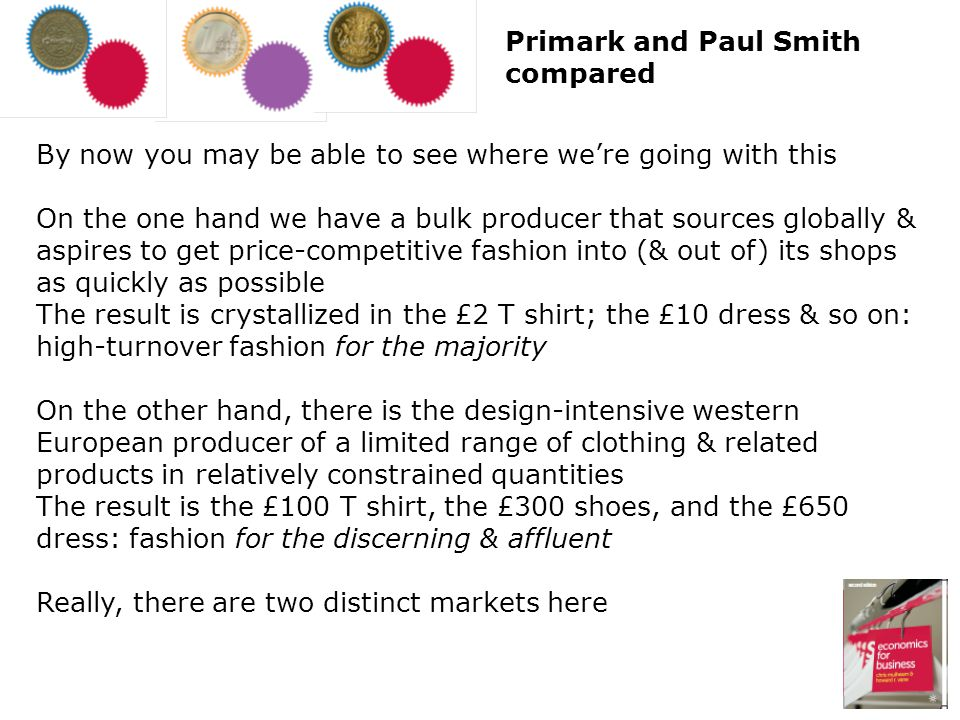 Primark and Paul Smith compared
