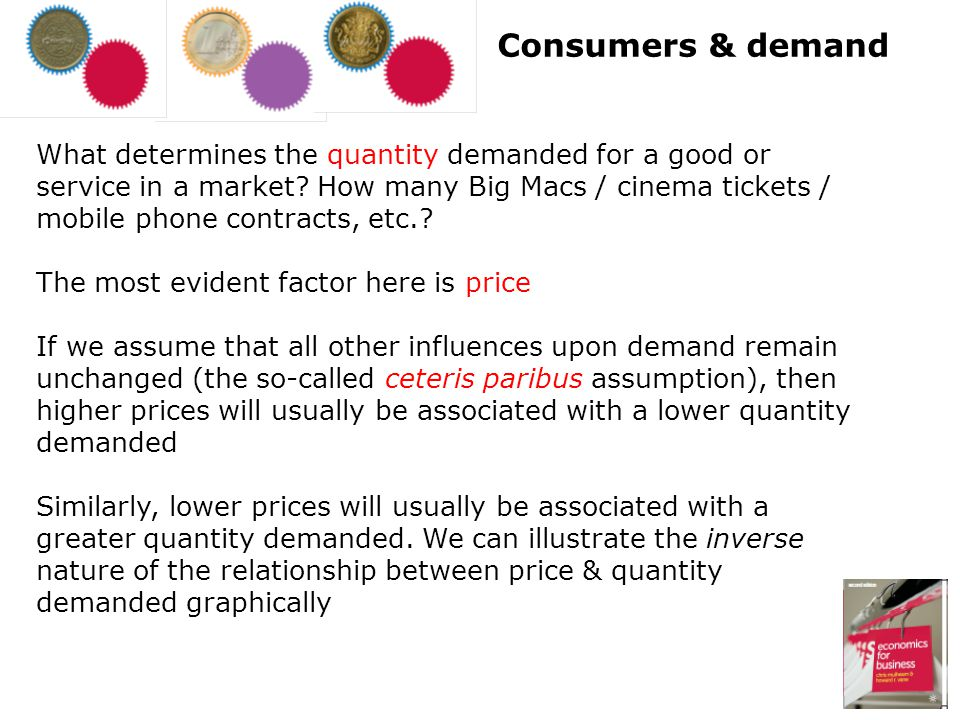 Consumers & demand