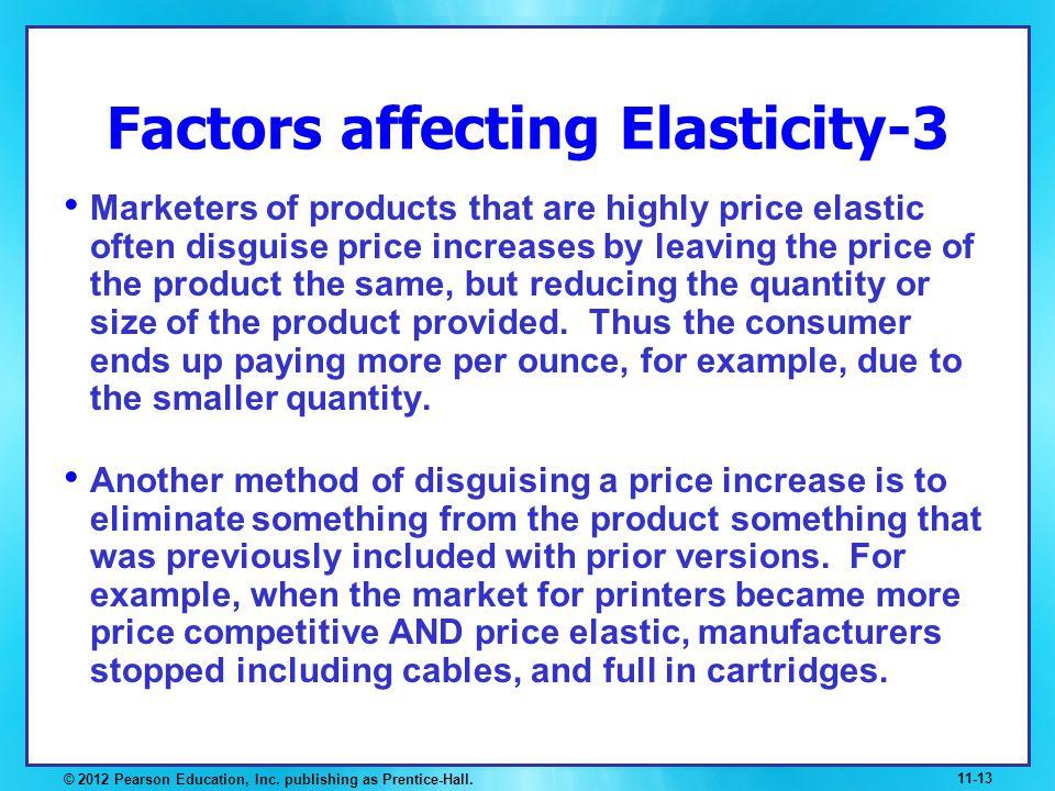 Factors affecting Elasticity-3