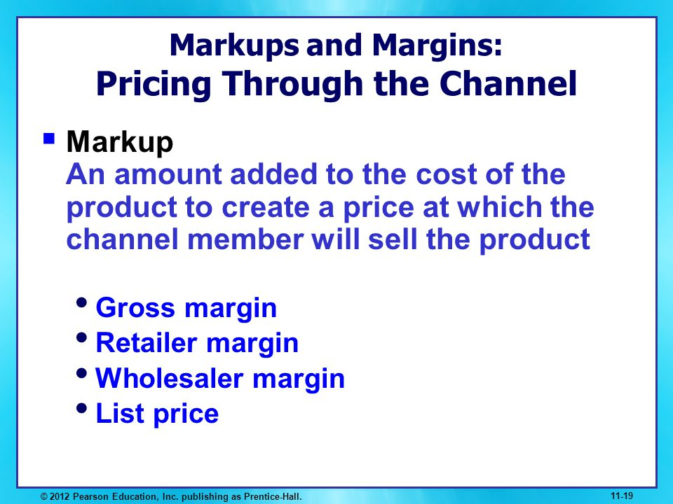 Markups and Margins: Pricing Through the Channel