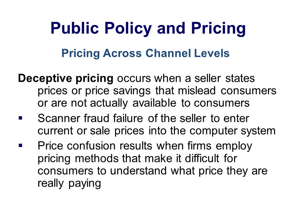Lecture 17 Pricing Strategies Ppt Download