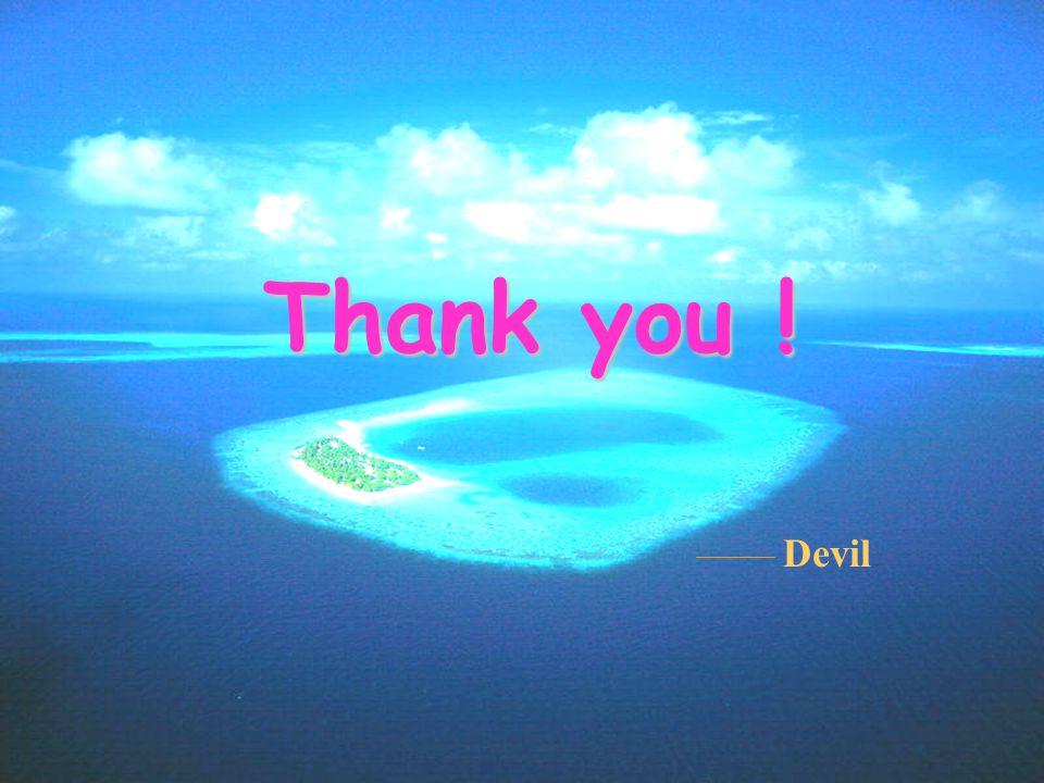 Thank you ! Devil