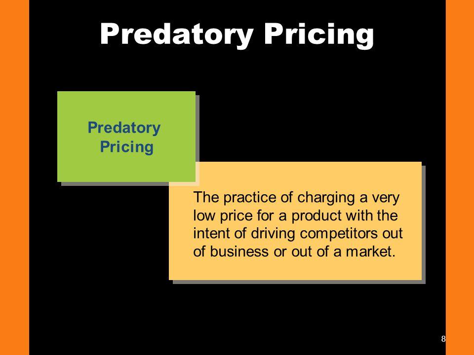 Predatory Pricing Predatory Pricing