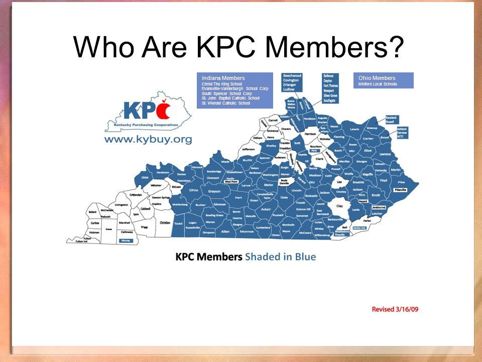 Who Are KPC Members Indiana Members Ohio Members