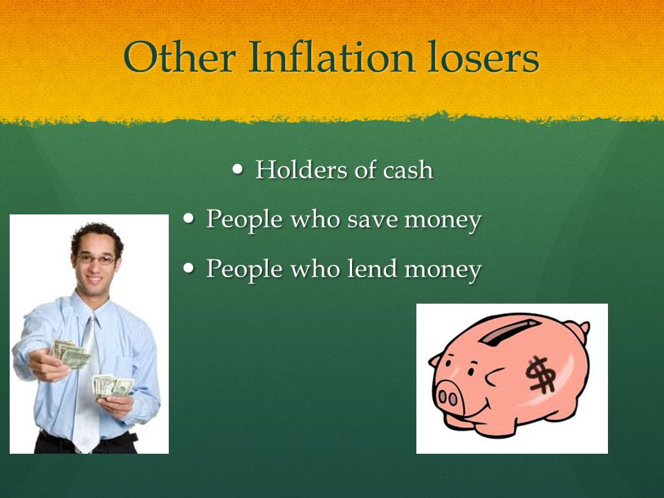Other Inflation losers