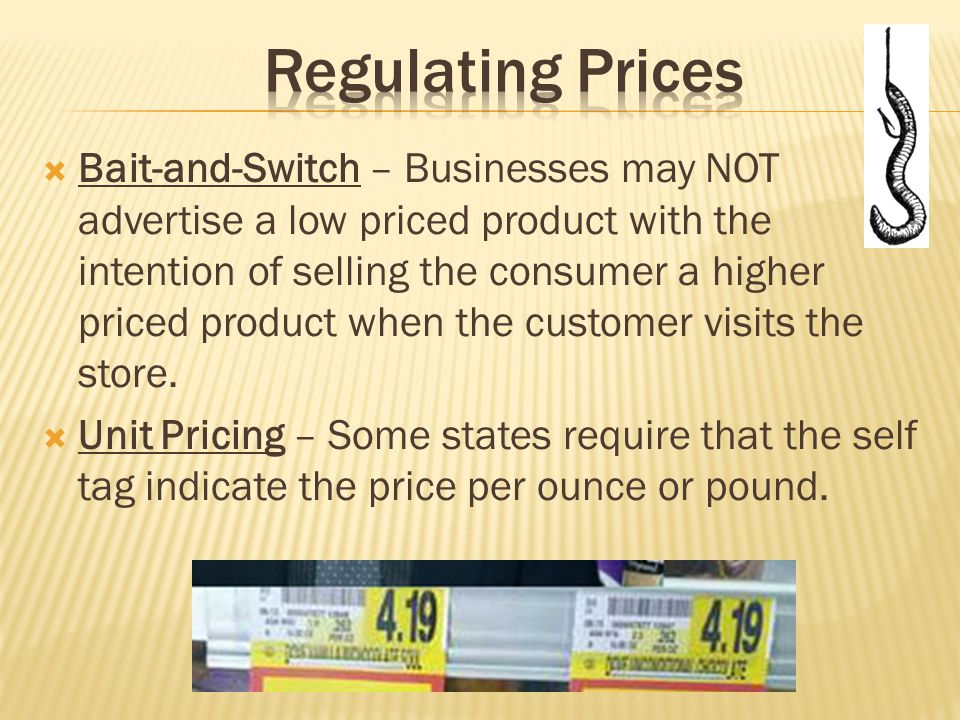 Regulating Prices