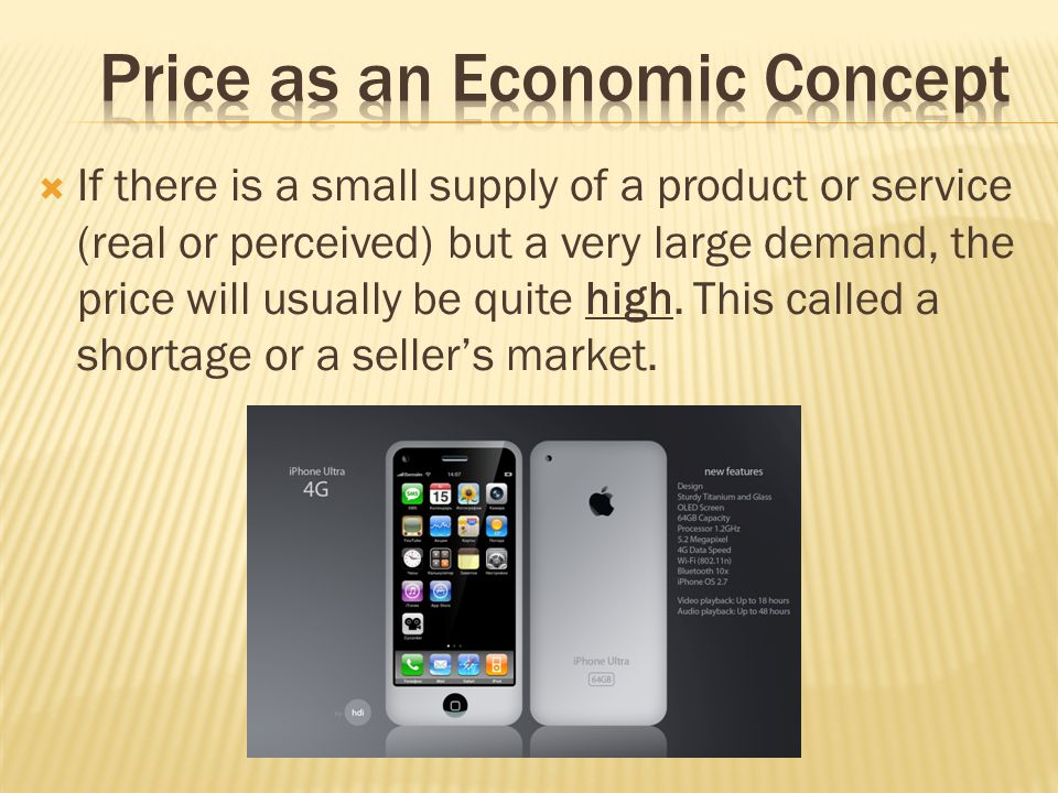 Price as an Economic Concept