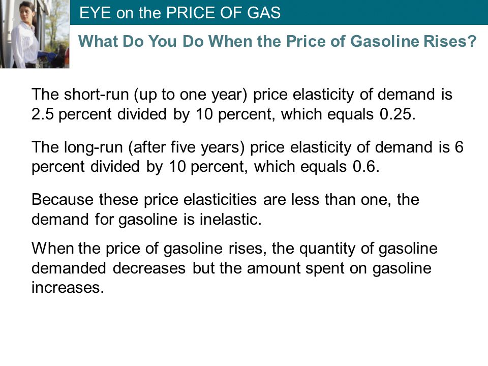 What Do You Do When the Price of Gasoline Rises