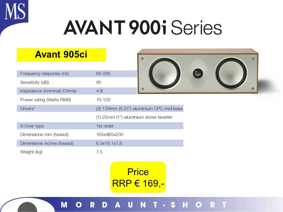 Avant 905ci Price RRP € 169,-