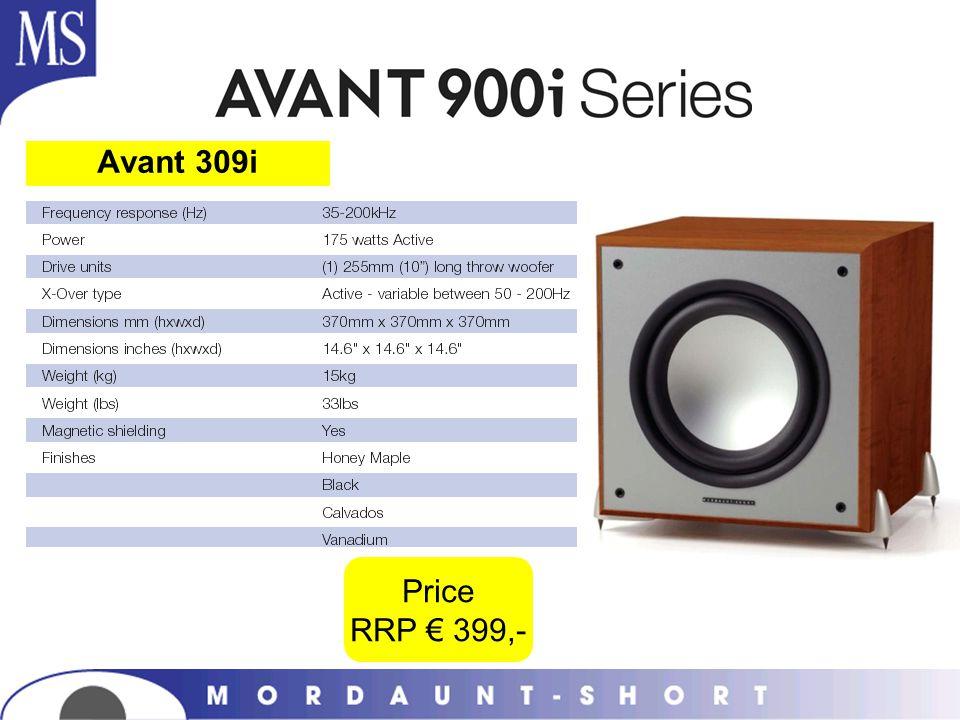Avant 309i Price RRP € 399,-