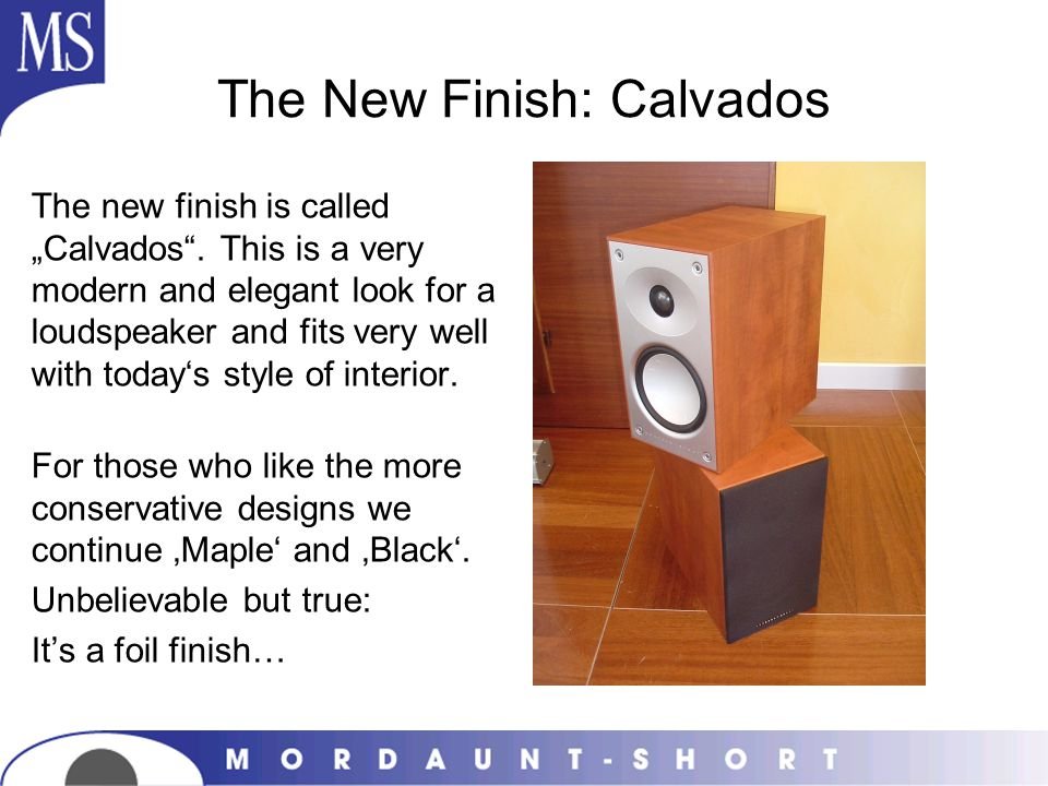 The New Finish: Calvados
