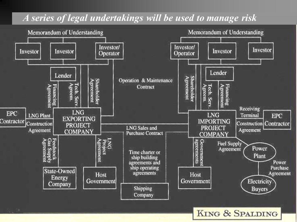 A series of legal undertakings will be used to manage risk