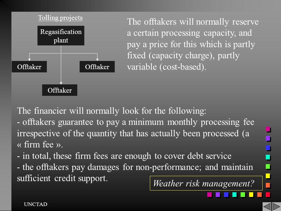 The financier will normally look for the following: