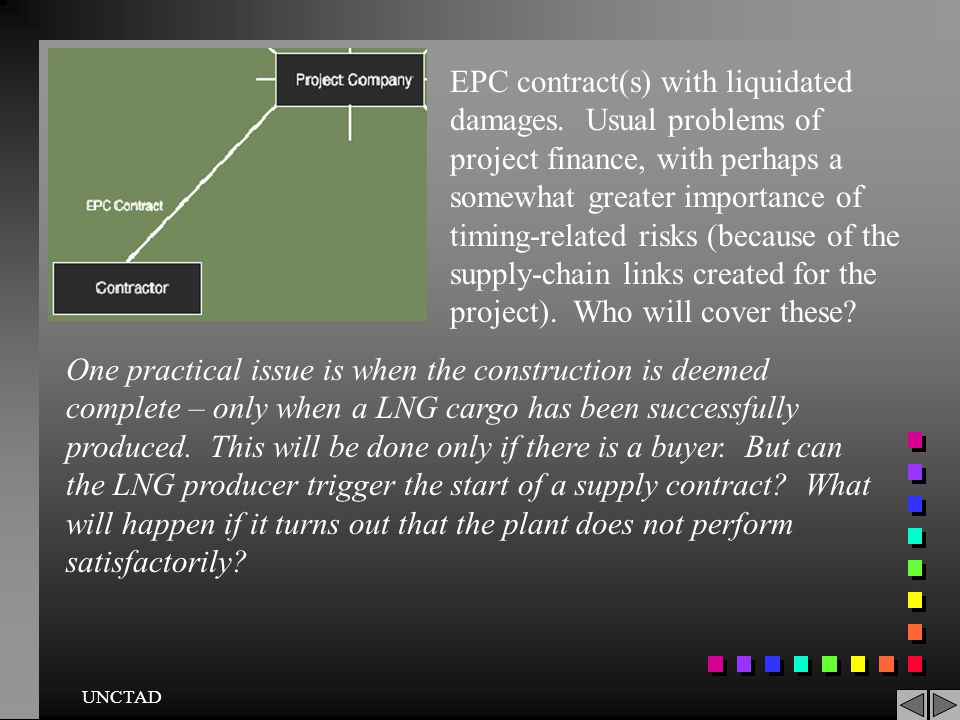 EPC contract(s) with liquidated damages