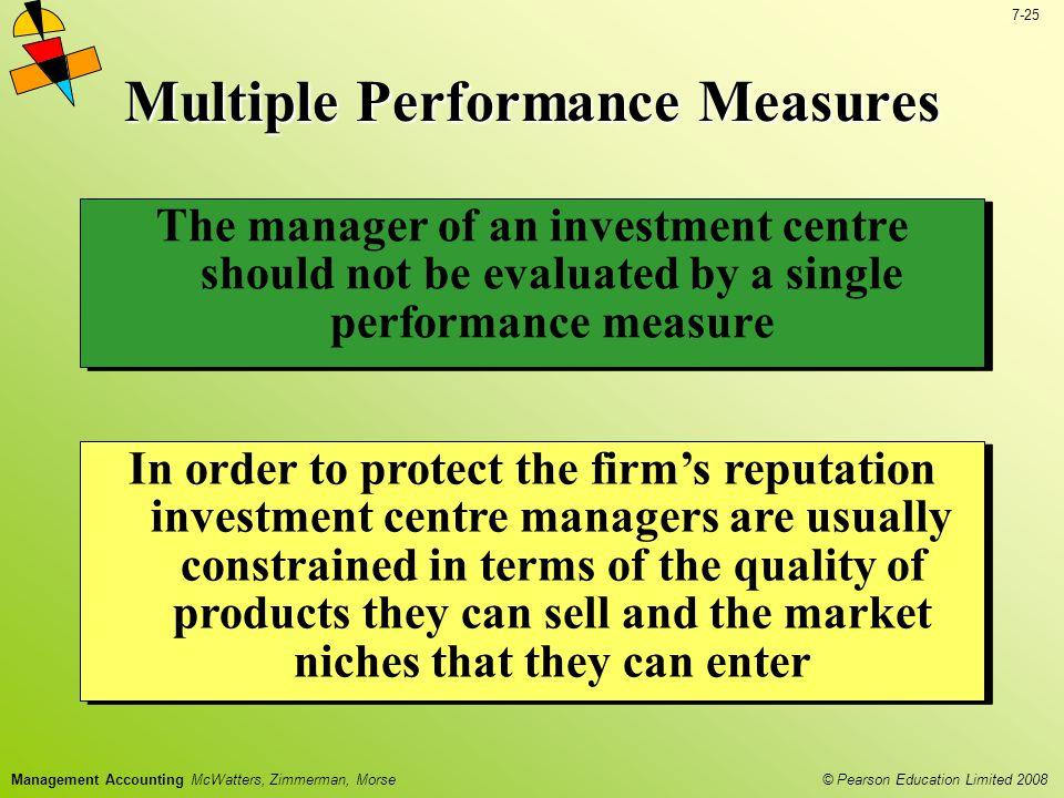 Multiple Performance Measures