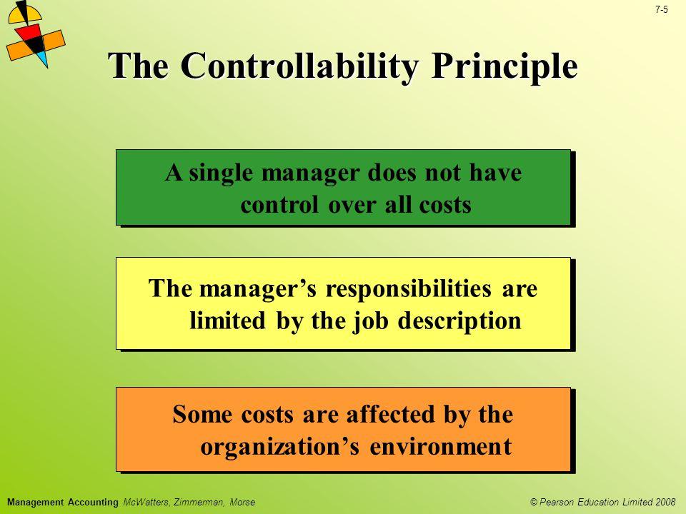 The Controllability Principle