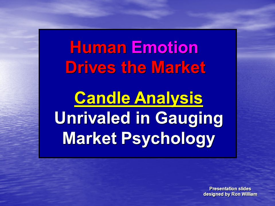 Candle Analysis Unrivaled in Gauging Market Psychology