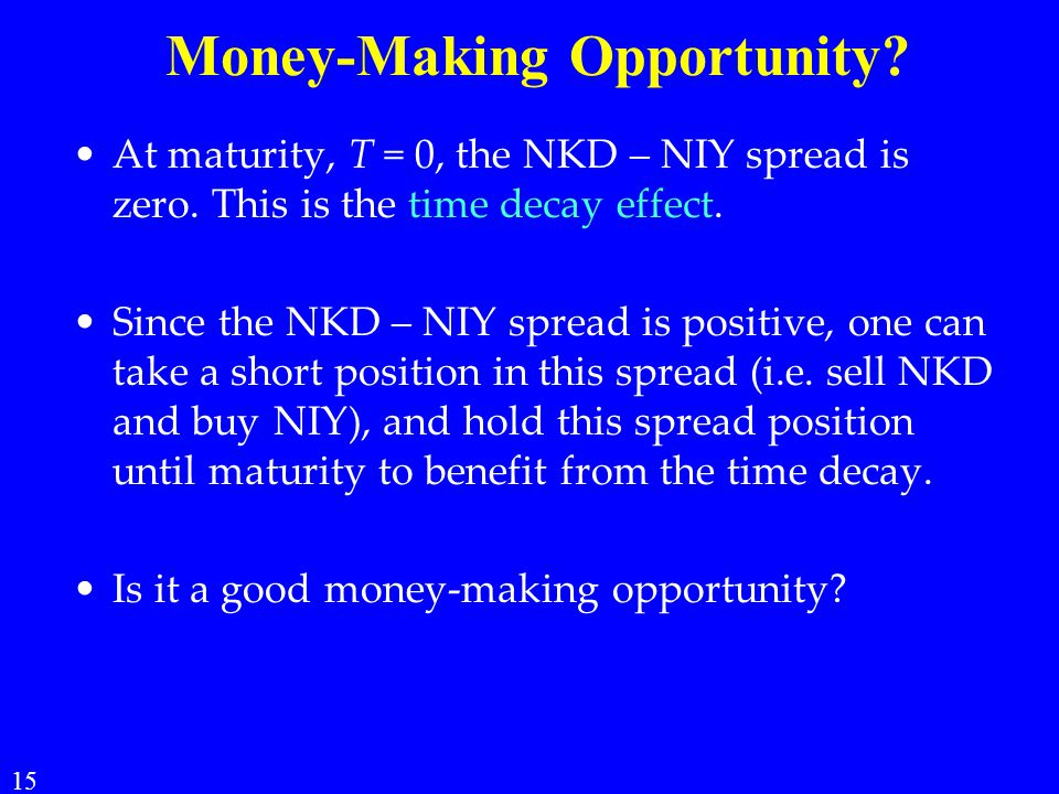 Money-Making Opportunity