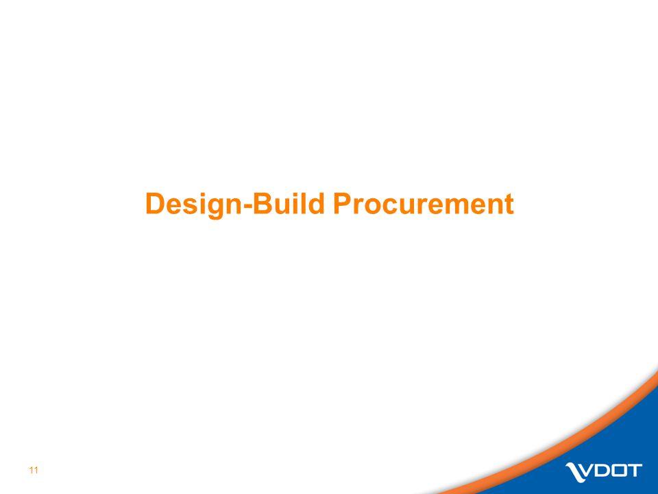 Design-Build Procurement