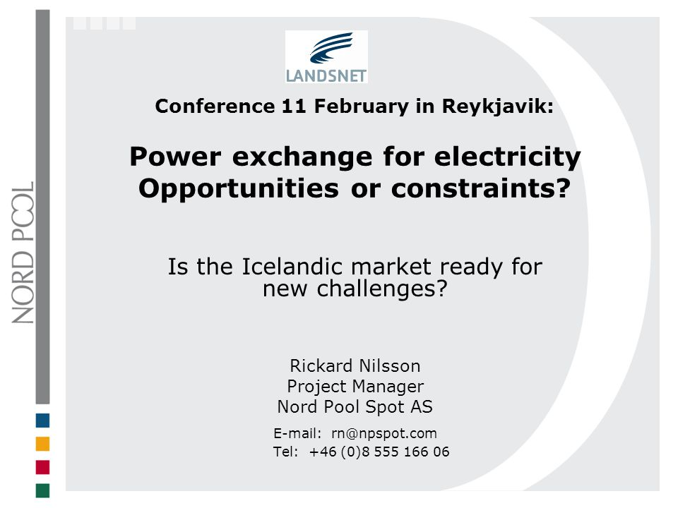 Is the Icelandic market ready for new challenges
