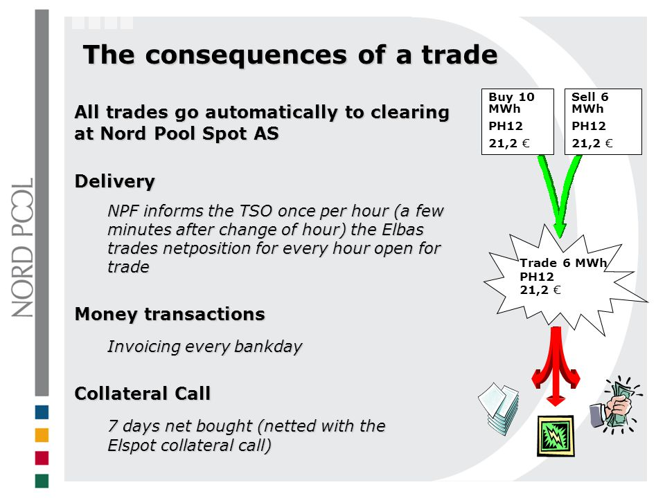 The consequences of a trade